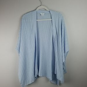 Club Monaco Wrap Cardigan Blue M/L